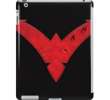 Nightwing Damaged (Red) iPad Case/Skin