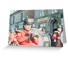 Duke of Lancaster's Regiment Freedom Parade - Ormskirk Greeting Card
