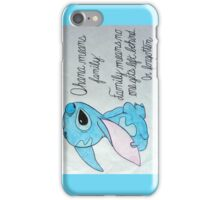 The Best Lilo and Stitch Quote iPhone Case/Skin