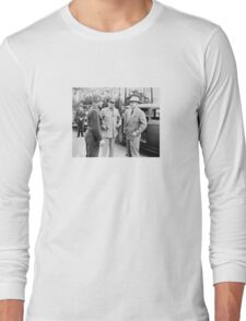 Truman, Eisenhower, And Hickey -- WWII  Long Sleeve T-Shirt