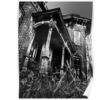 THIS HOUSE SITS ALONE... Poster