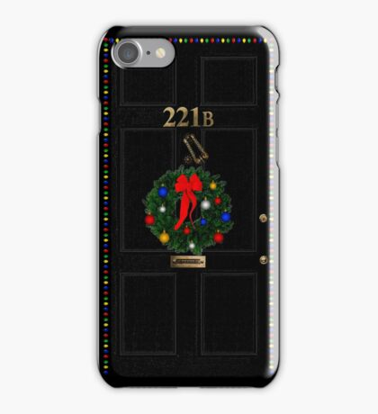 221 Before Christmas - turned knocker iPhone Case/Skin