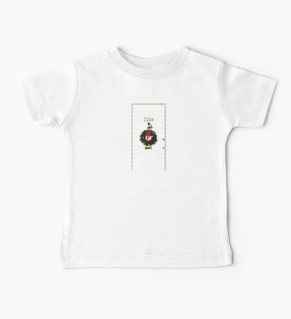 221 Before Christmas - turned knocker Baby Tee