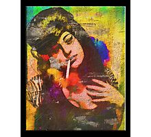 Dressed as Amy Winehouse For Halloween  Photographic Print