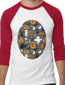 Halloween Party Men's Baseball ¾ T-Shirt