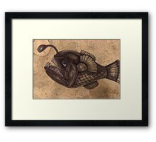 Black Devilfish (or The Angler Fish) Framed Print