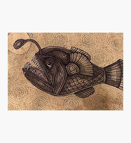 Black Devilfish (or The Angler Fish) Photographic Print