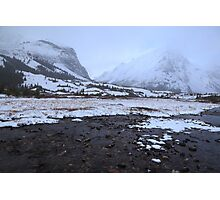 Elbow Pass valley IX Photographic Print