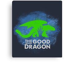 The good Dragon Canvas Print