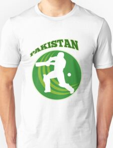 cricket player batsman batting Pakistan T-Shirt