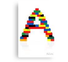 """A"" Canvas Print"