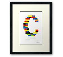"""""""C"""" Framed Print"""