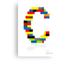"""C"" Canvas Print"