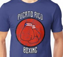 Puerto Rico Boxing Unisex T-Shirt
