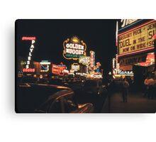 Old Vegas Canvas Print