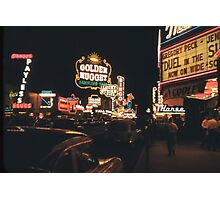 Old Vegas Photographic Print
