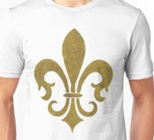 Golden Fleur-de-lys Unisex T-Shirt