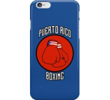 Puerto Rico Boxing iPhone Case/Skin