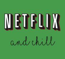 Netflix and chill Kids Tee