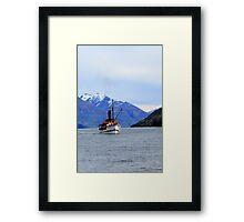 TSS Earnslaw Steamship Framed Print