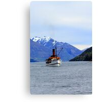 TSS Earnslaw Steamship Canvas Print