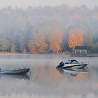 Lake of Bays Dawn by Nancy Barrett