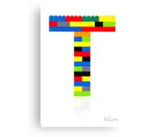 """T"" Canvas Print"