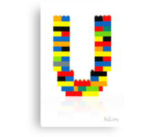 """U"" Canvas Print"