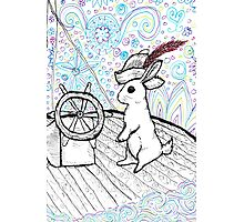 Ship captain cotton tail Photographic Print