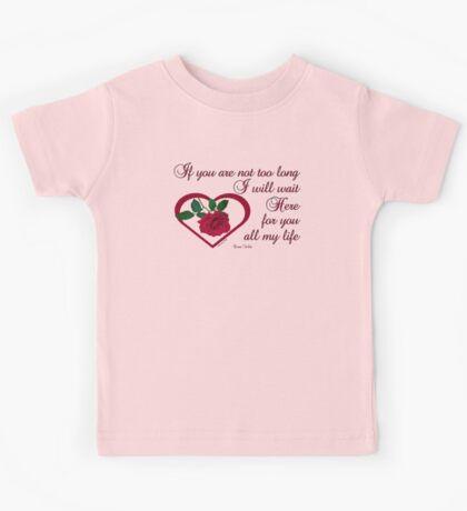Forever My Love Kids Tee