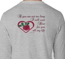 Forever My Love Long Sleeve T-Shirt
