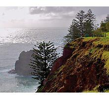 Norfolk Island, Open Coast, Australia Photographic Print