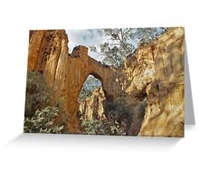 Hill End Earthscape Greeting Card