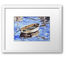 All aboard the Nautical theme Framed Print
