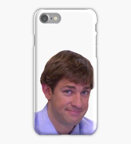 Jim's Smirk - The Office iPhone Case/Skin