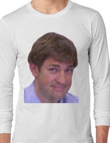 Jim's Smirk - The Office Long Sleeve T-Shirt