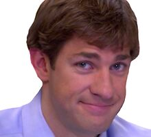 Jim's Smirk - The Office by TellAVision