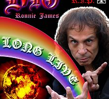 Ronnie James DIO by TeimurazArt