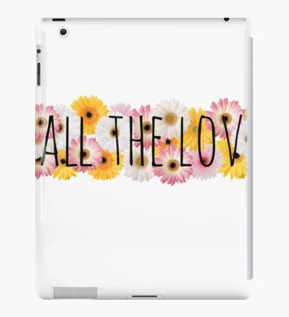 All the Love 3 iPad Case/Skin