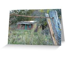 Warrys Cottage, Hill End Greeting Card