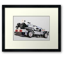 Delorean Dmc12 Framed Print