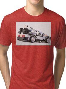 Delorean Dmc12 Tri-blend T-Shirt