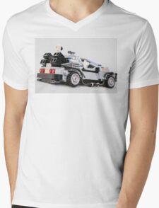 Delorean Dmc12 Mens V-Neck T-Shirt