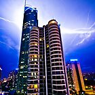 LIGHTNING STRIKE  by Scott  d'Almeida