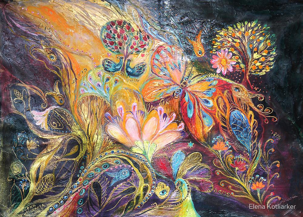 The shining of the Orange Tree by Elena Kotliarker