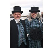 The Goth Weekend at Whitby, Oct 2011. 31 Photographic Print