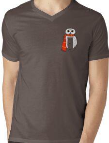 Pocket Hedwig Mens V-Neck T-Shirt