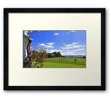 Hills above Hahndorf, South Australia Framed Print