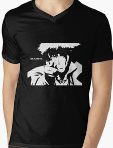 Cowboy Bebop - Bang Mens V-Neck T-Shirt