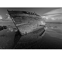 Reflections on Dereliction - Salen, Isle of Mull, Scotland Photographic Print